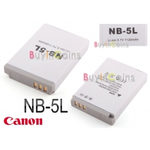 Аккумулятор NB-5L NB5L Battery for Canon