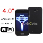 Android 4.0 MTK6515 Smartphone 512MB WIFI Mobile Phone