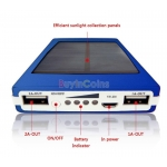PortableSolar Panel Battery Charger Power Bank