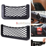 Universal Car Seat Back Net Phone Holder Pocket Gargets Organizer
