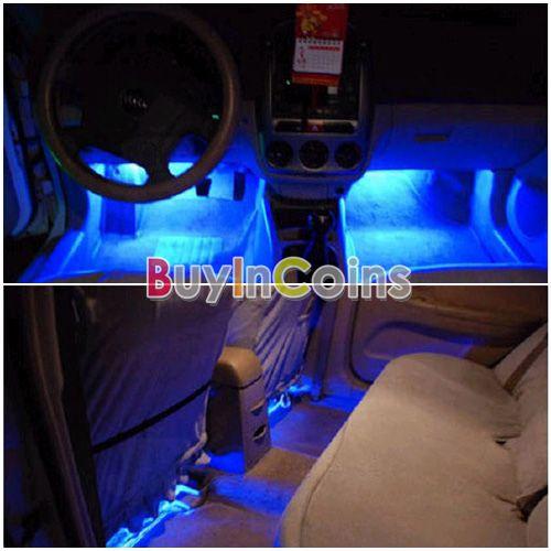 Подсветка на светодиодах в авто